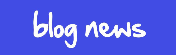 Blog News!