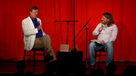 Stephen Fry and Richard Herring on the Podcast