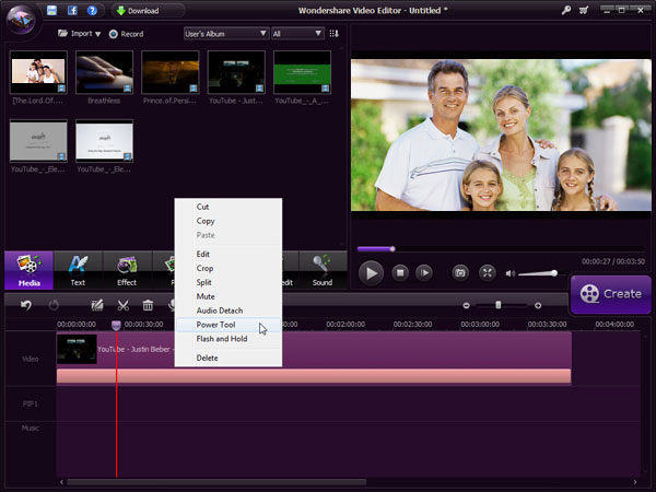 video-editor-time-line