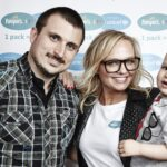 When Kip met Emma Bunton for the launch of Pampers UNICEF Campaign