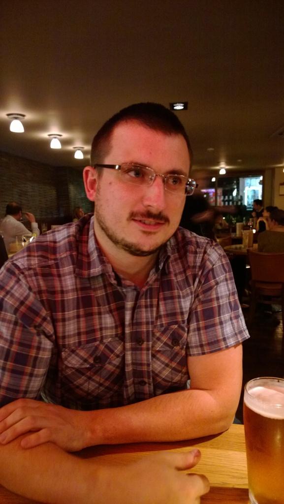 Taken in the same bar - no flash