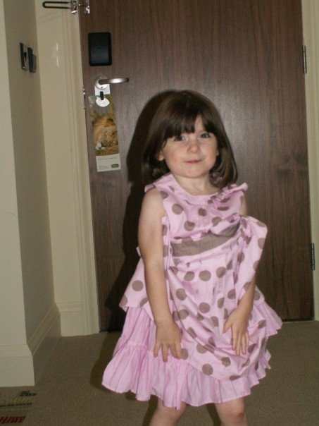 G - when she was 3!
