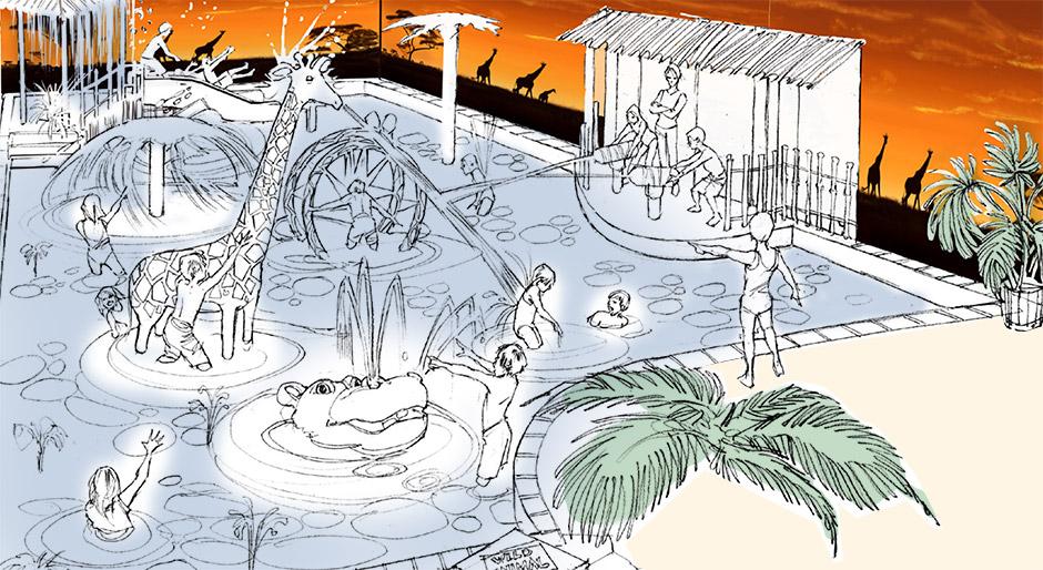 Savannah Splash Pool