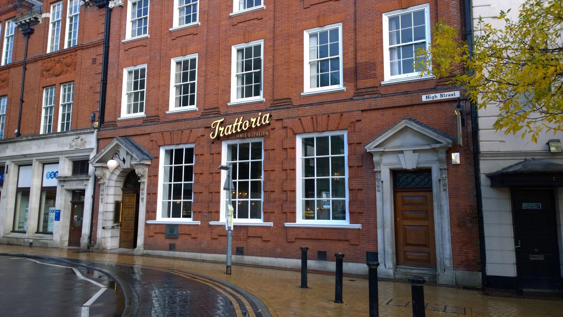 Review Jamie S Italian Trattoria Chelmsford