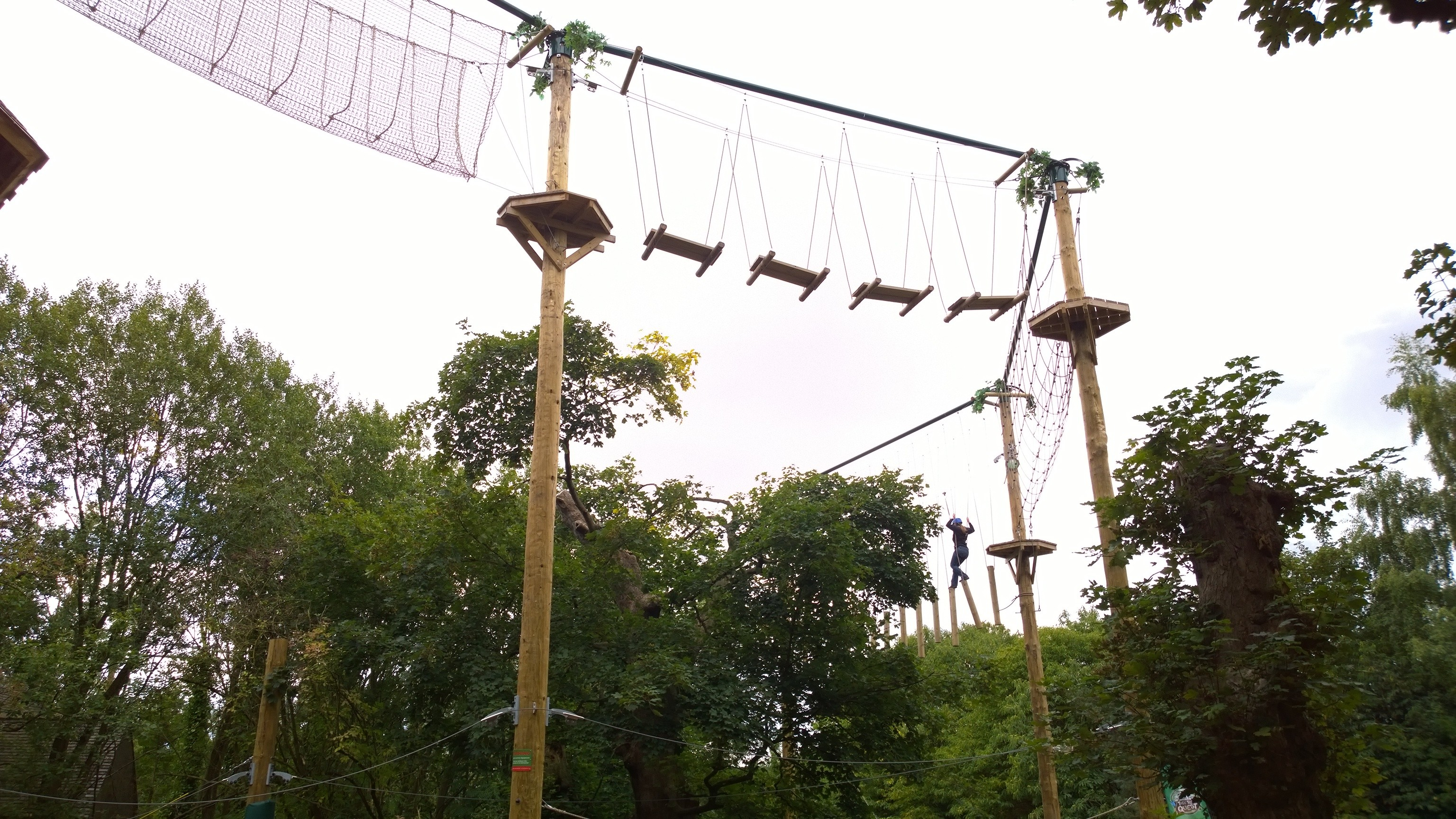 The High Ropes live up to the name!