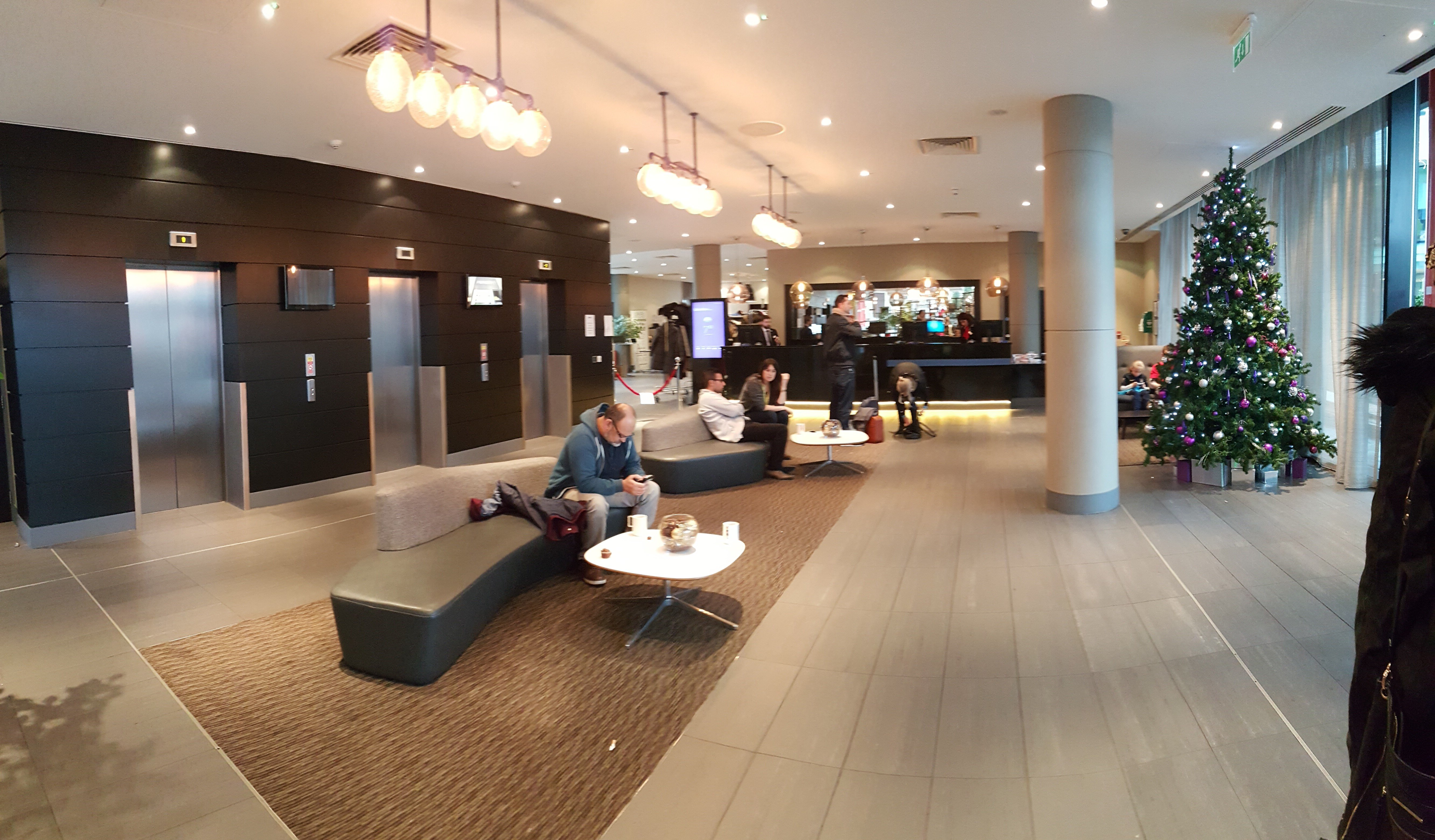 Reception / Lobby of the Park Inn by Radisson Manchester City Centre
