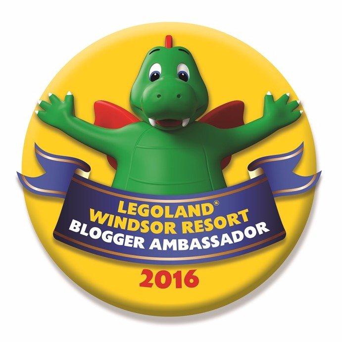 LEGOLAND Blogger Ambassador Badge 2016