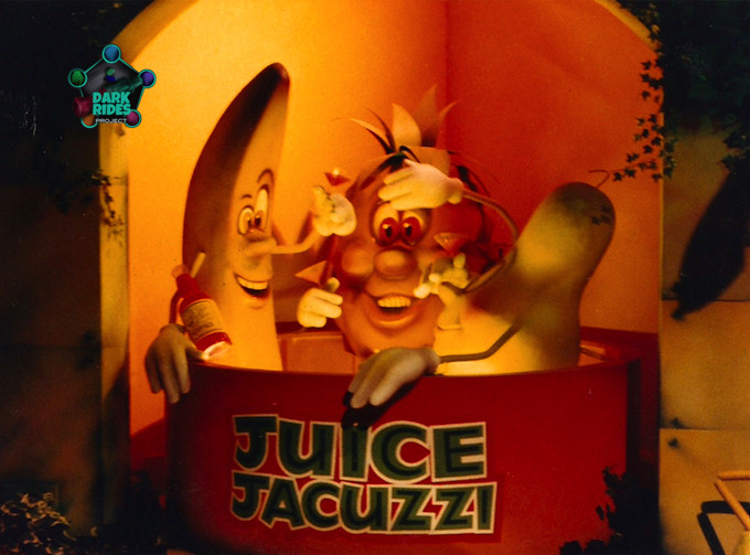 Photo of the Juice Jacuzzi provided by British Dark Rides Project