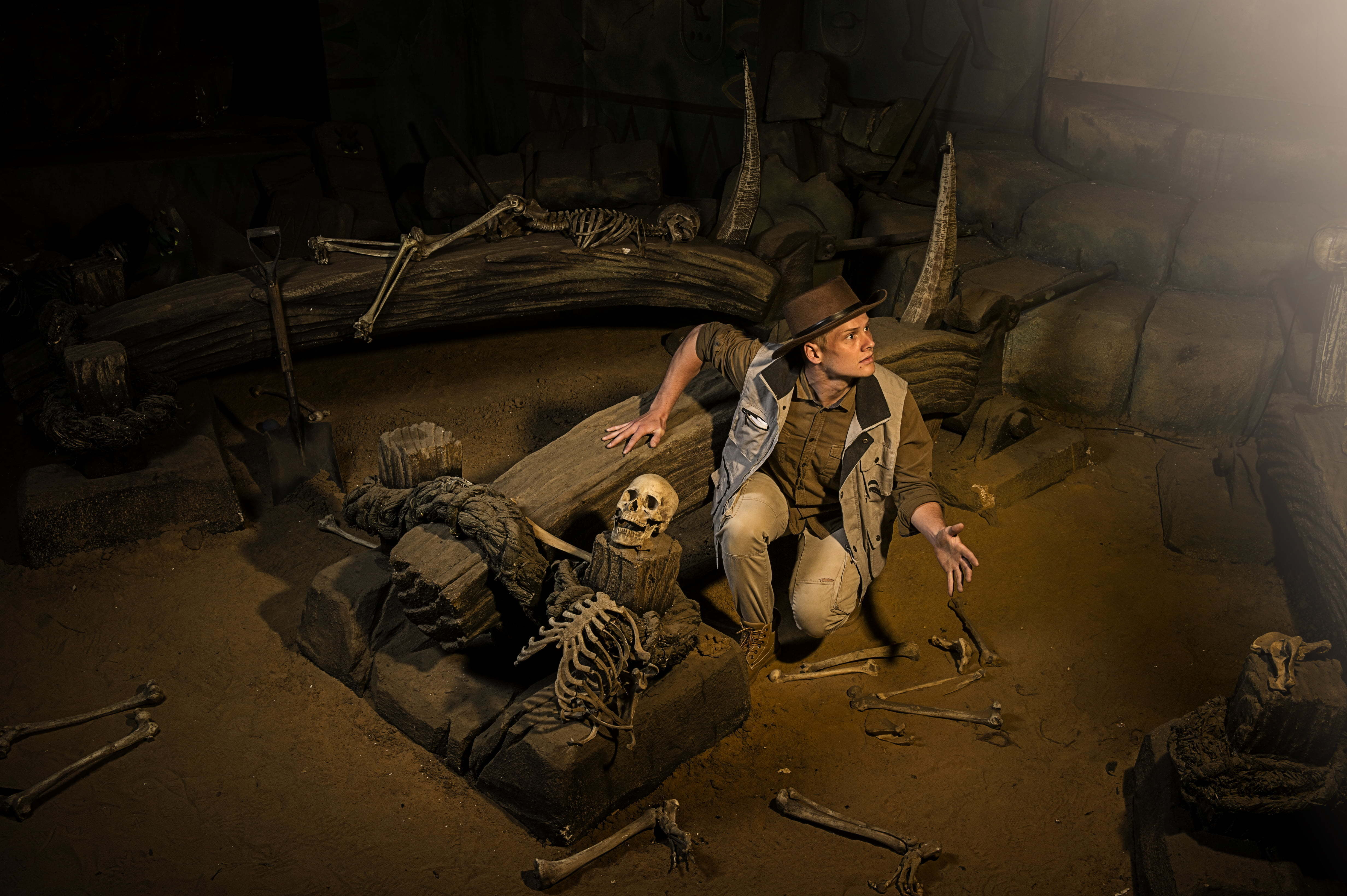 Enter the Curse of Lost Tomb at Chessington Howloween