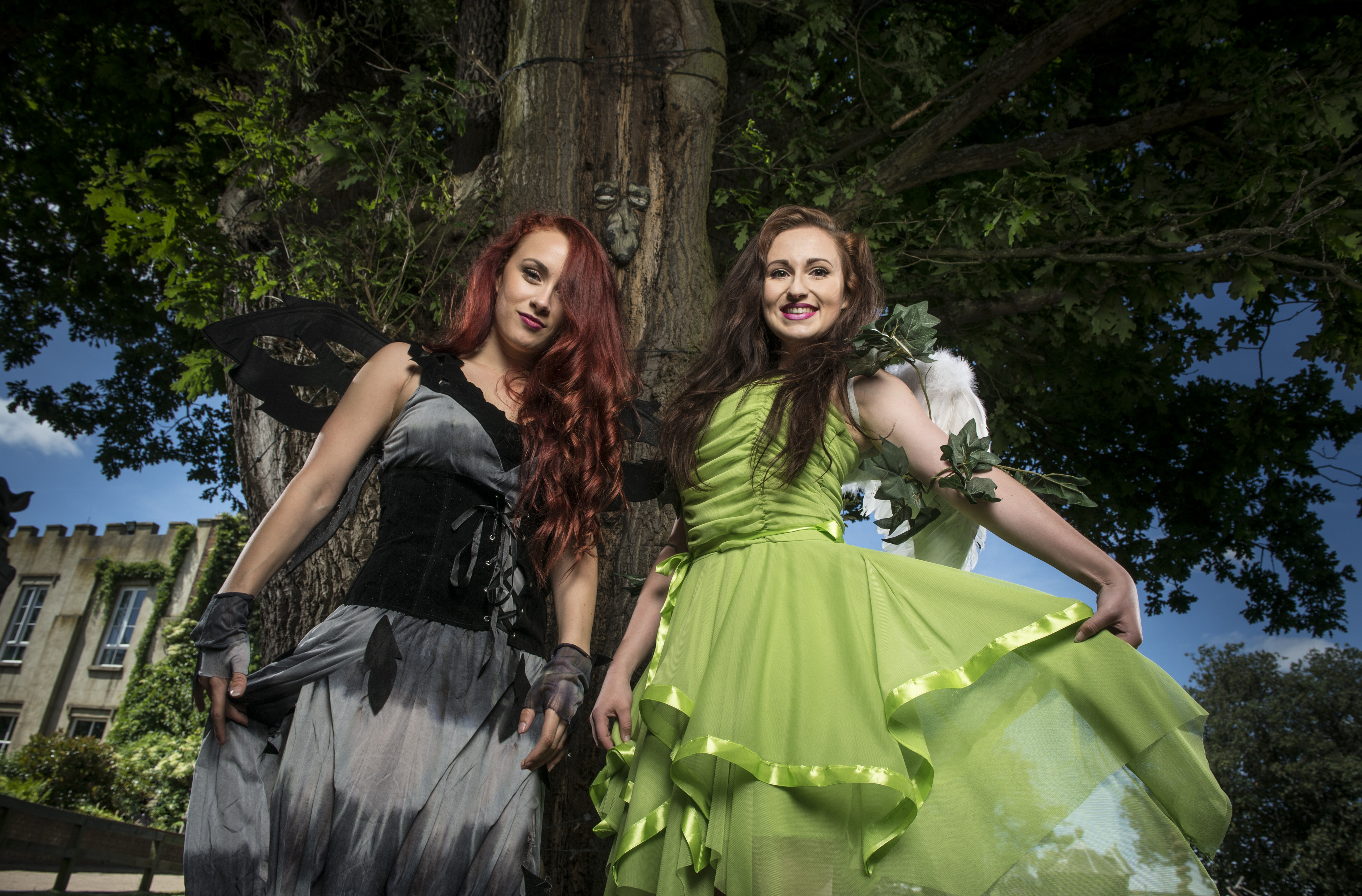 The Fairies are in the woods at the Chessington Howloween!
