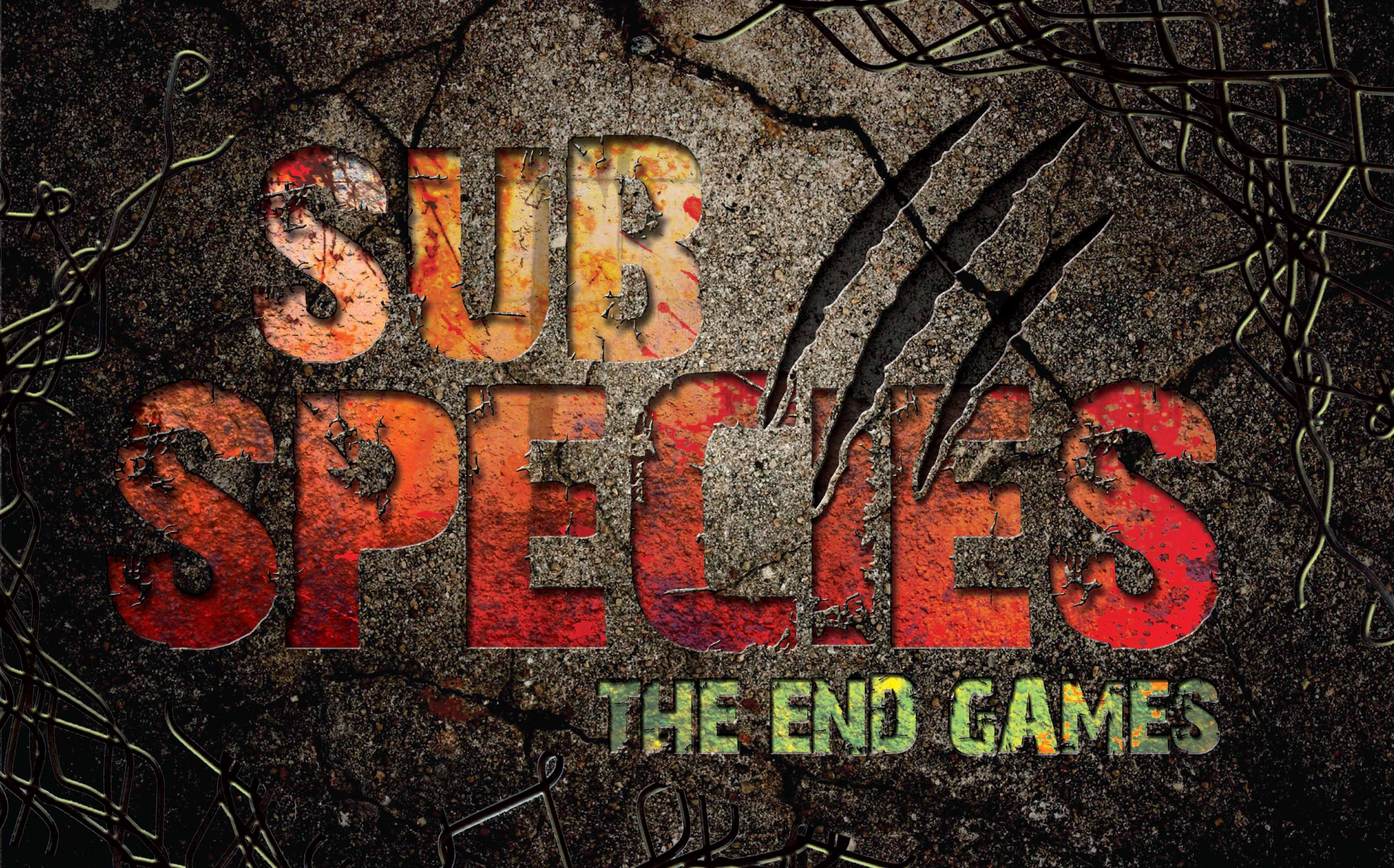 Sub Species - The End Games at Alton Towers Scarefest 2016