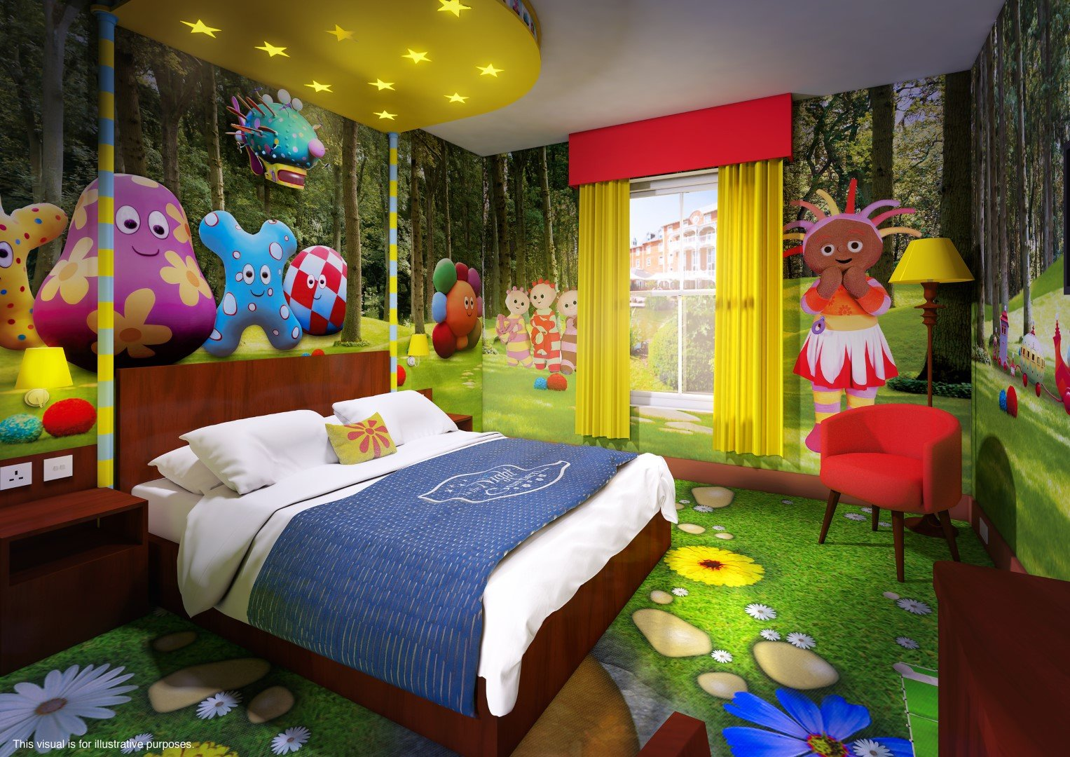 Alton Towers Cbeebies Land Hotel Themed Bedrooms Unveiled