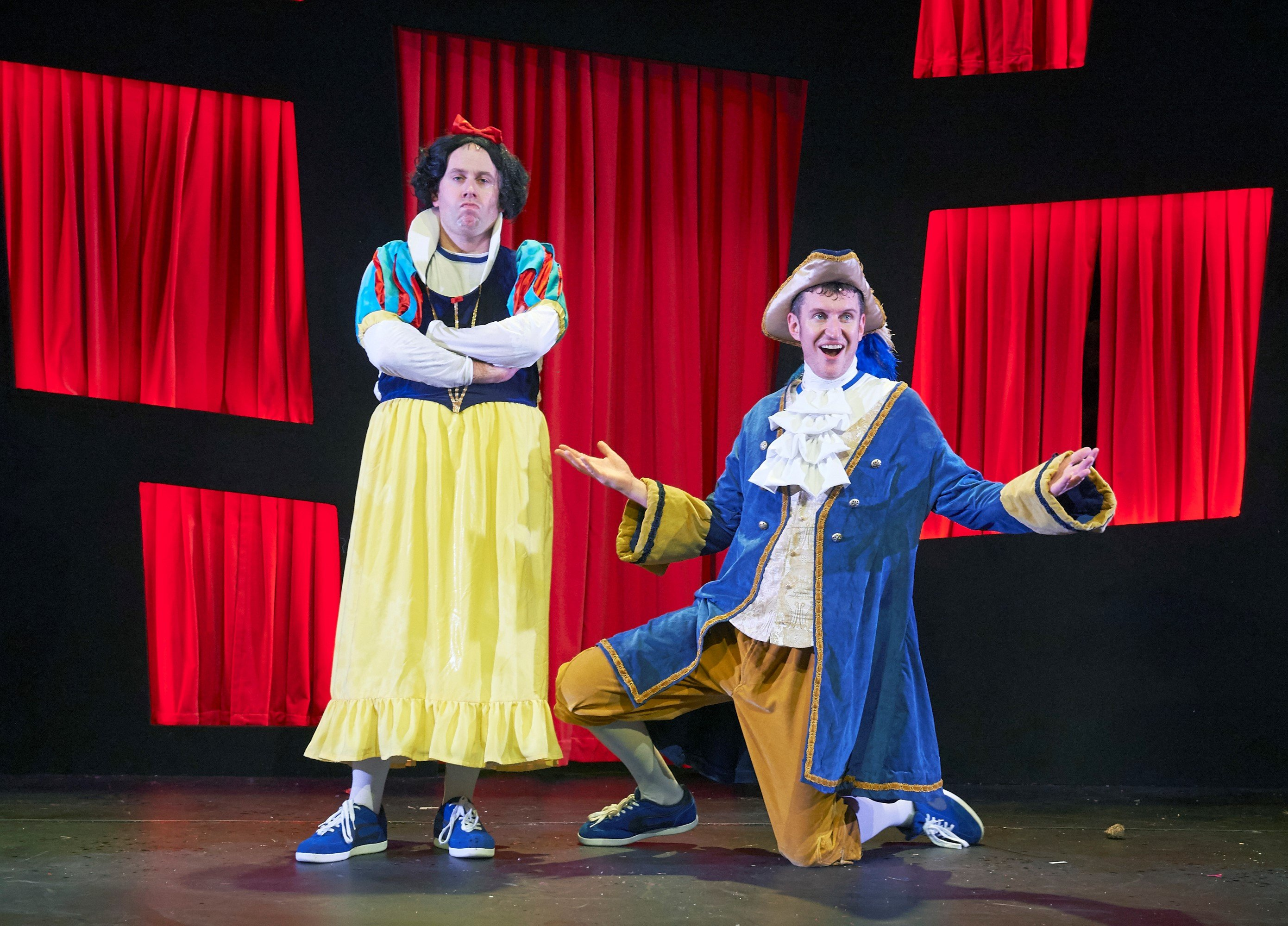 Potted Panto review at Vaudeville London - The Stage