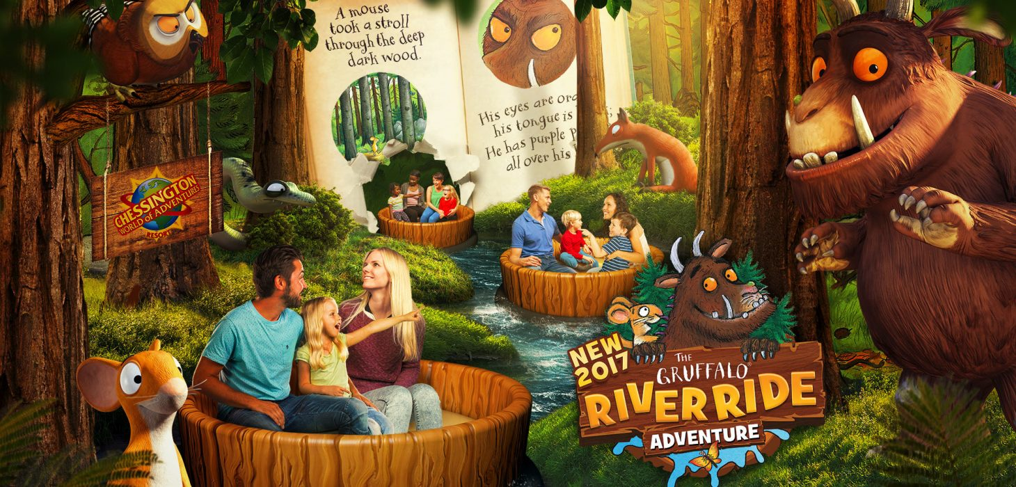 A look inside The Gruffalo River Ride Adventure.