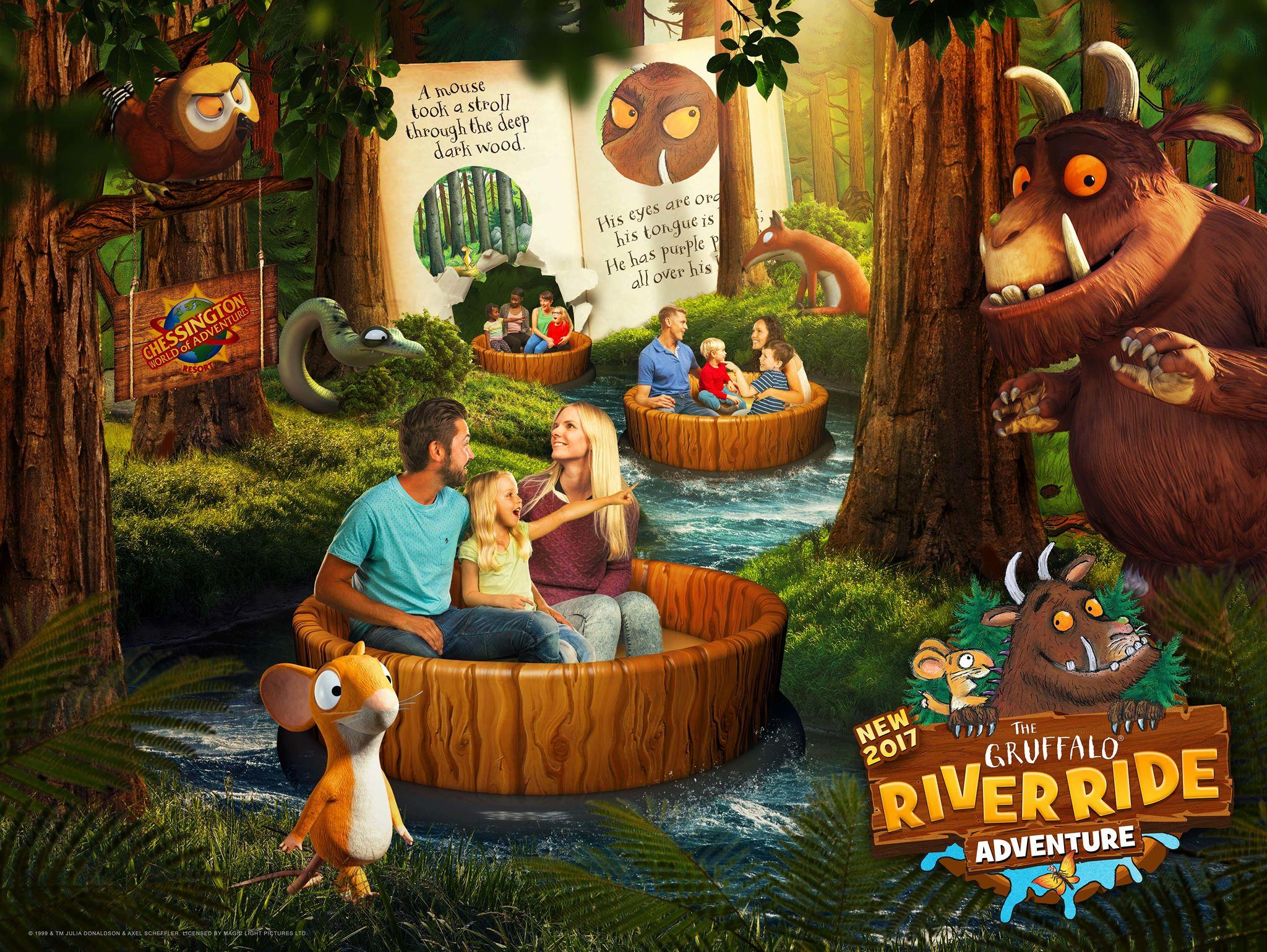 Inside the Gruffalo River Ride Adventure