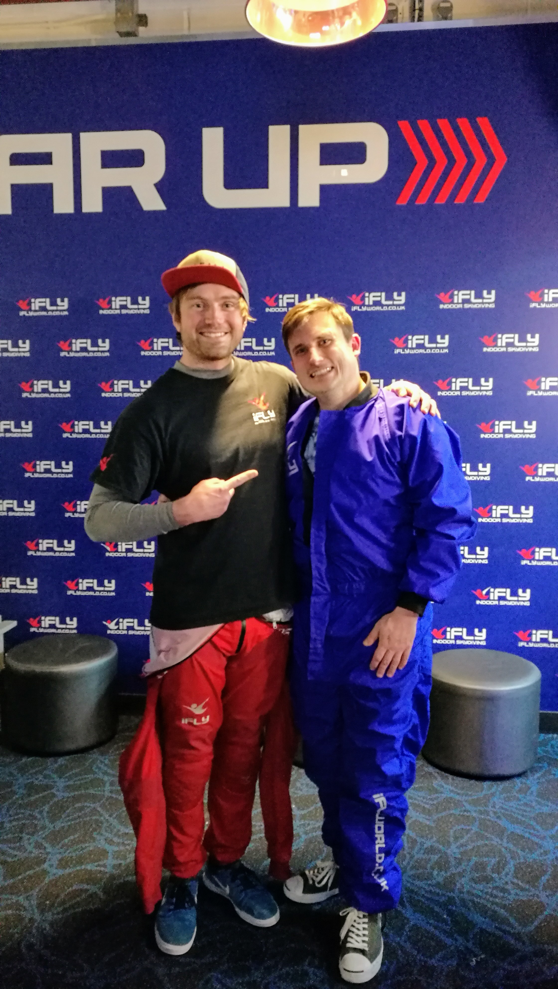 Me and Ted - The Indoor Skydiving LEGEND