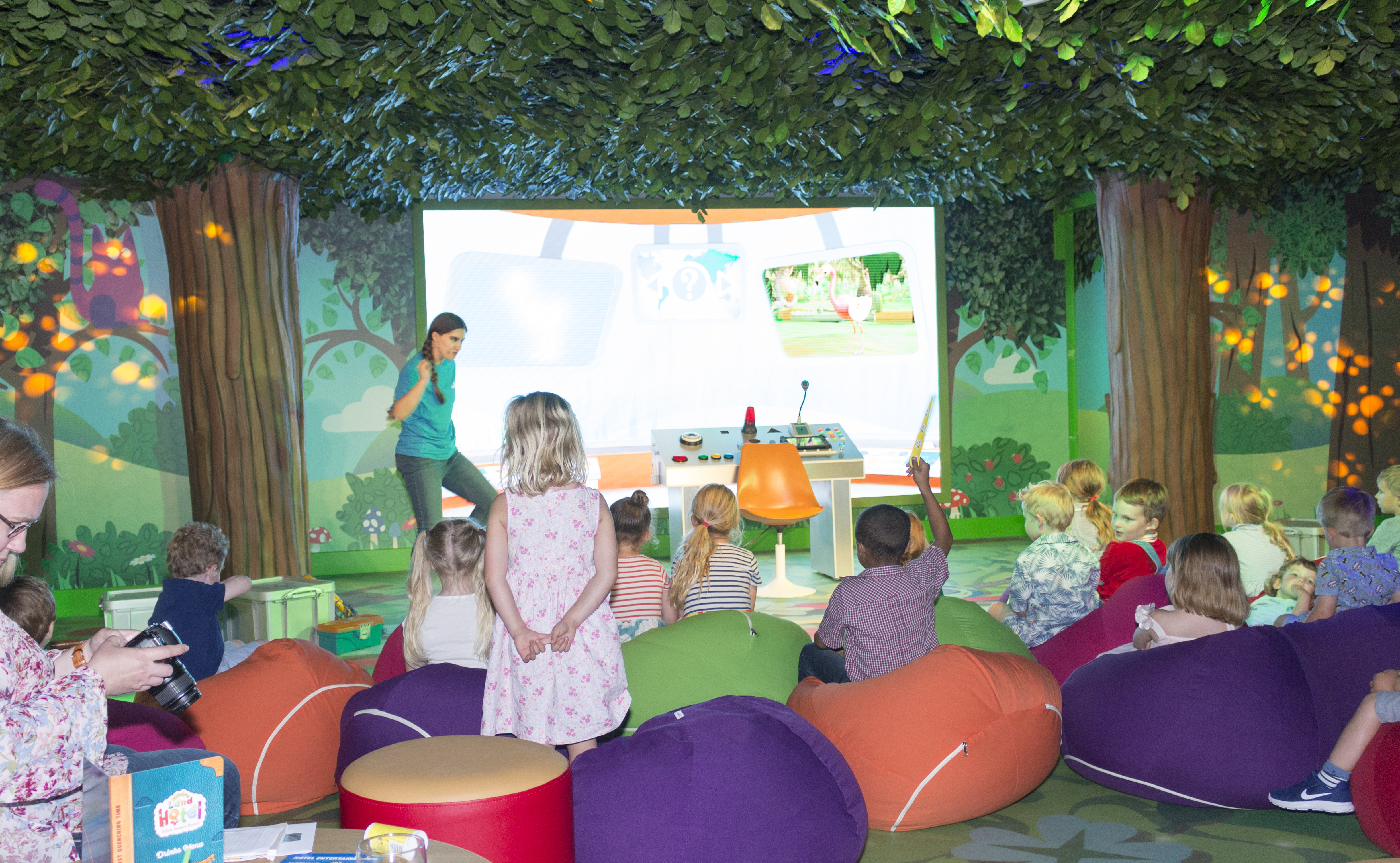 The Octonauts Show in the Musical Meadow at the CBeebies Land Hotel