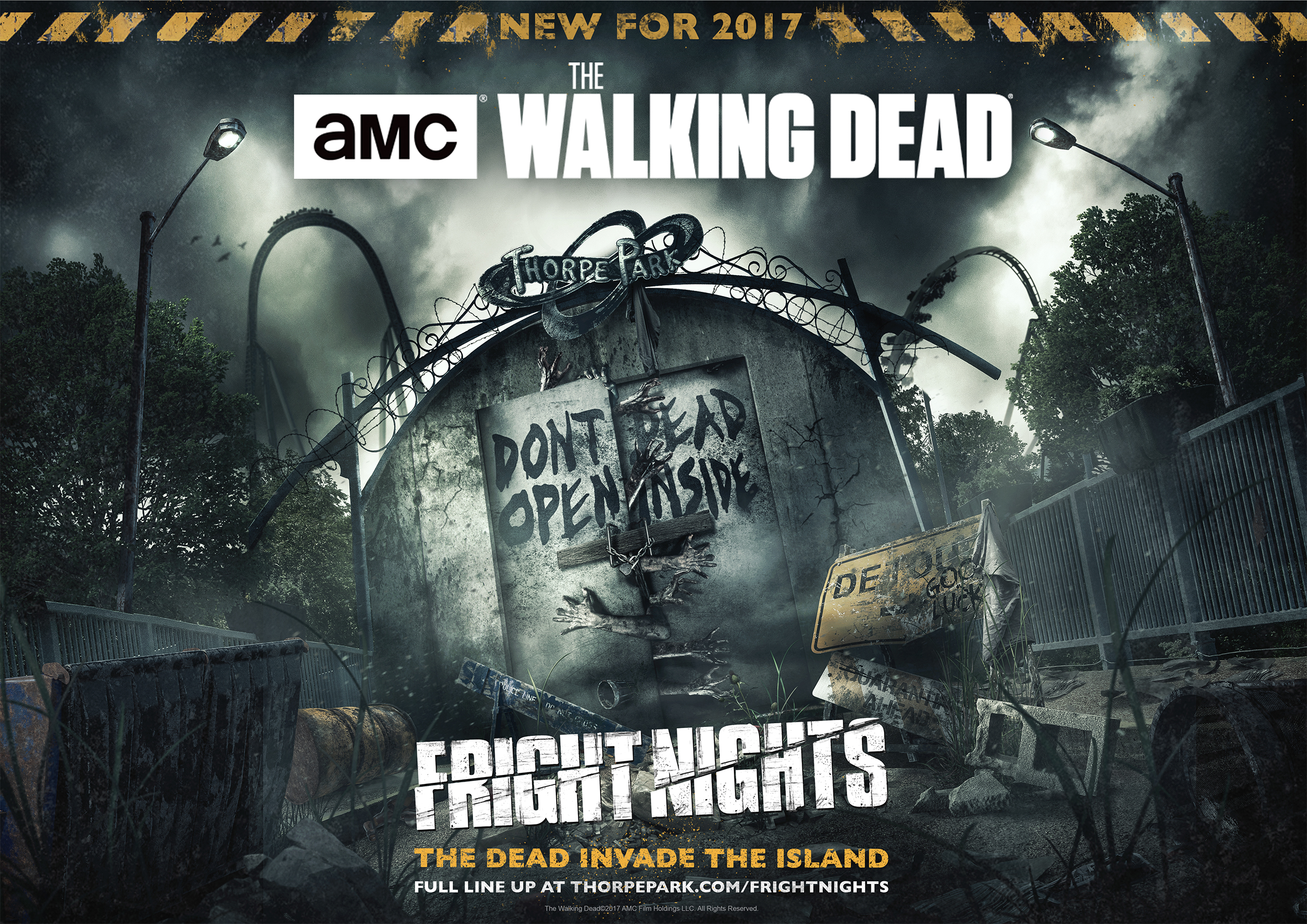 The Walking Dead at Thorpe Park Fright Nights