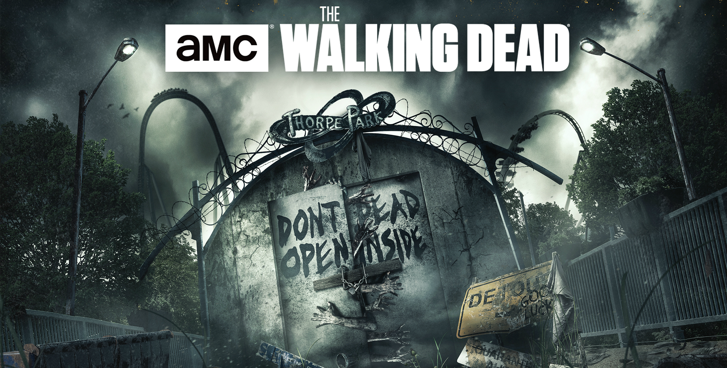 The Walking Dead at Thorpe Park Fright Nights!