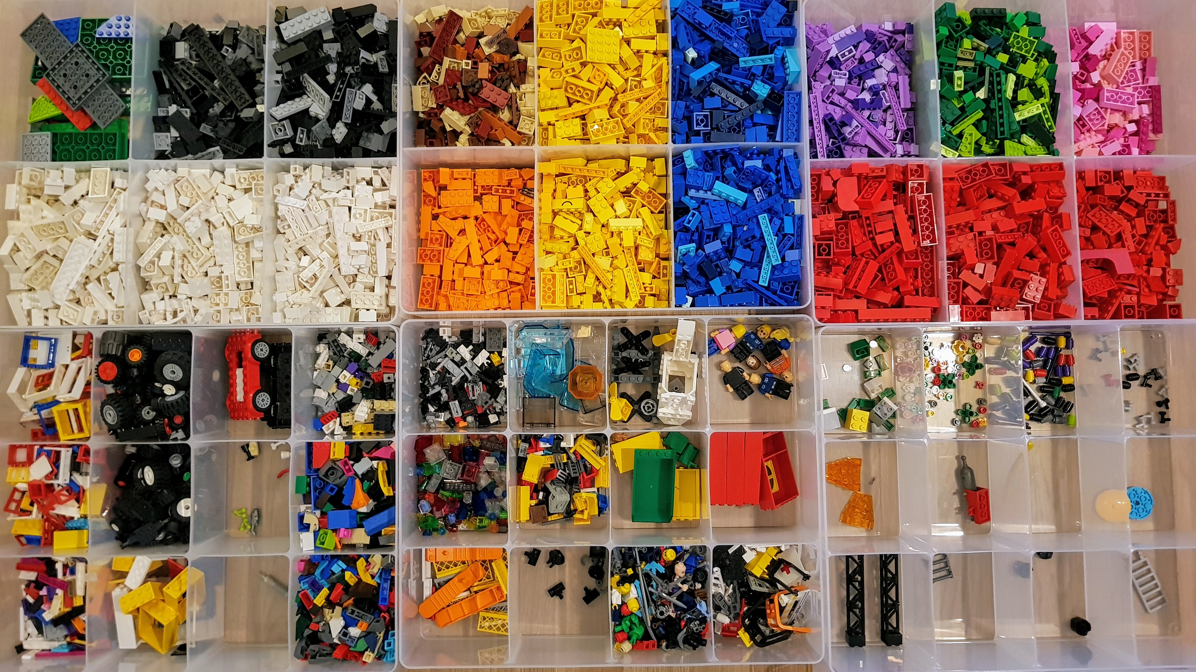 How we now store Lego