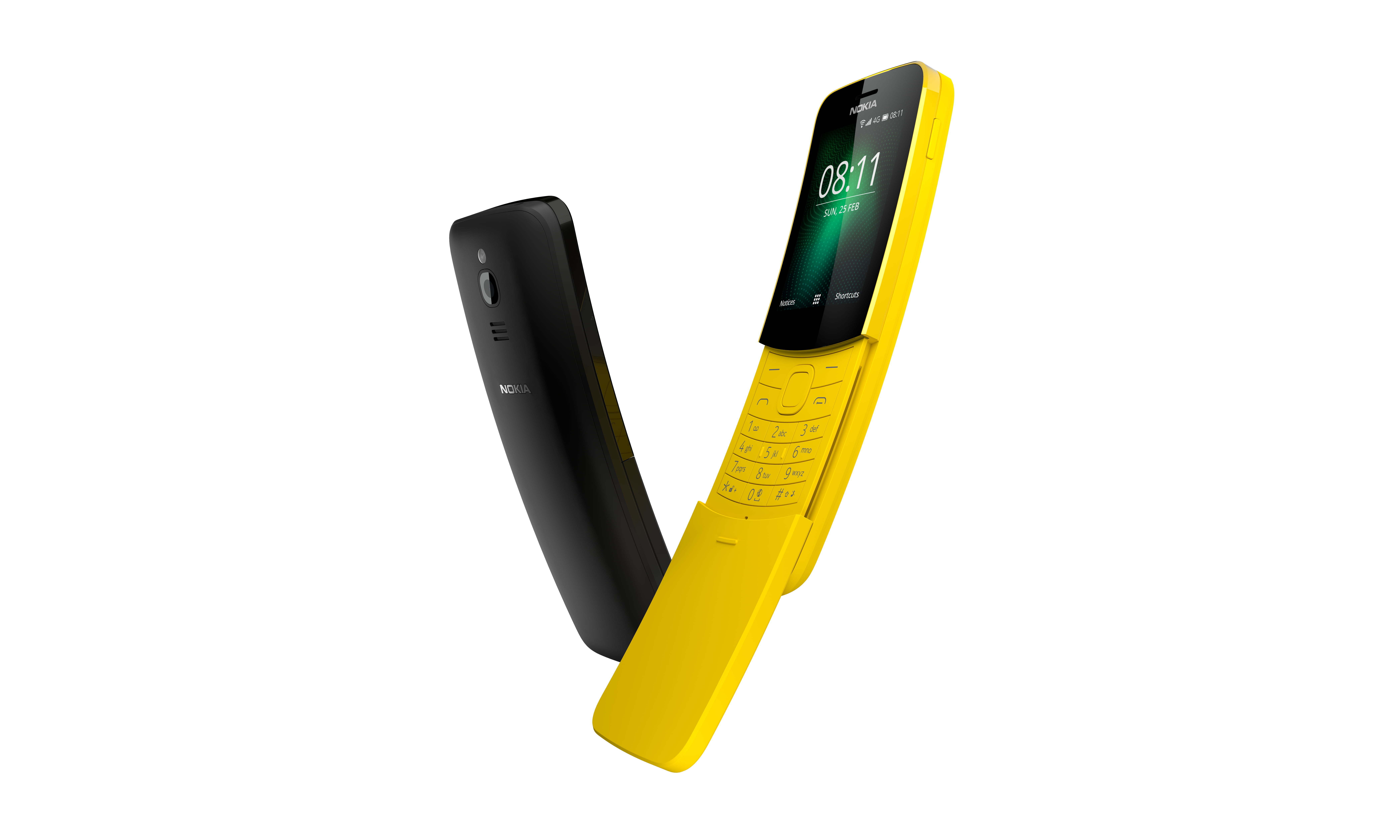 New from Nokia - The Nokia 8110 - The Matrix (phone) Reloaded