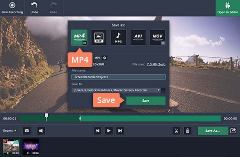 how to record live streaming video mac
