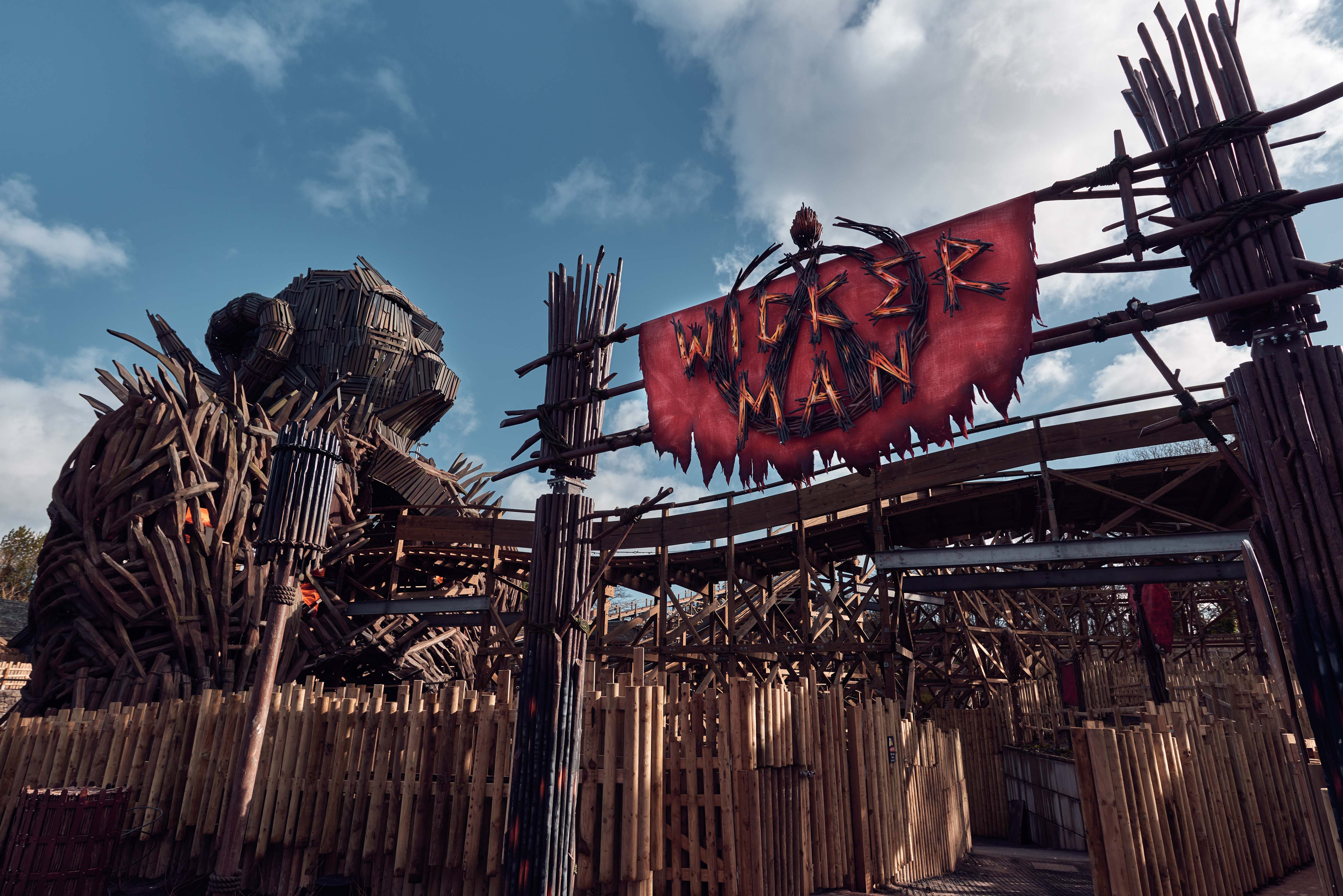 Alton Towers Wickerman PR Handout - free for editorial usage only. Photographer's name must remain part of credit metadata when distributed by agencies Credit: Mikael Buck / Alton Towers Copright: © Mikael Buck