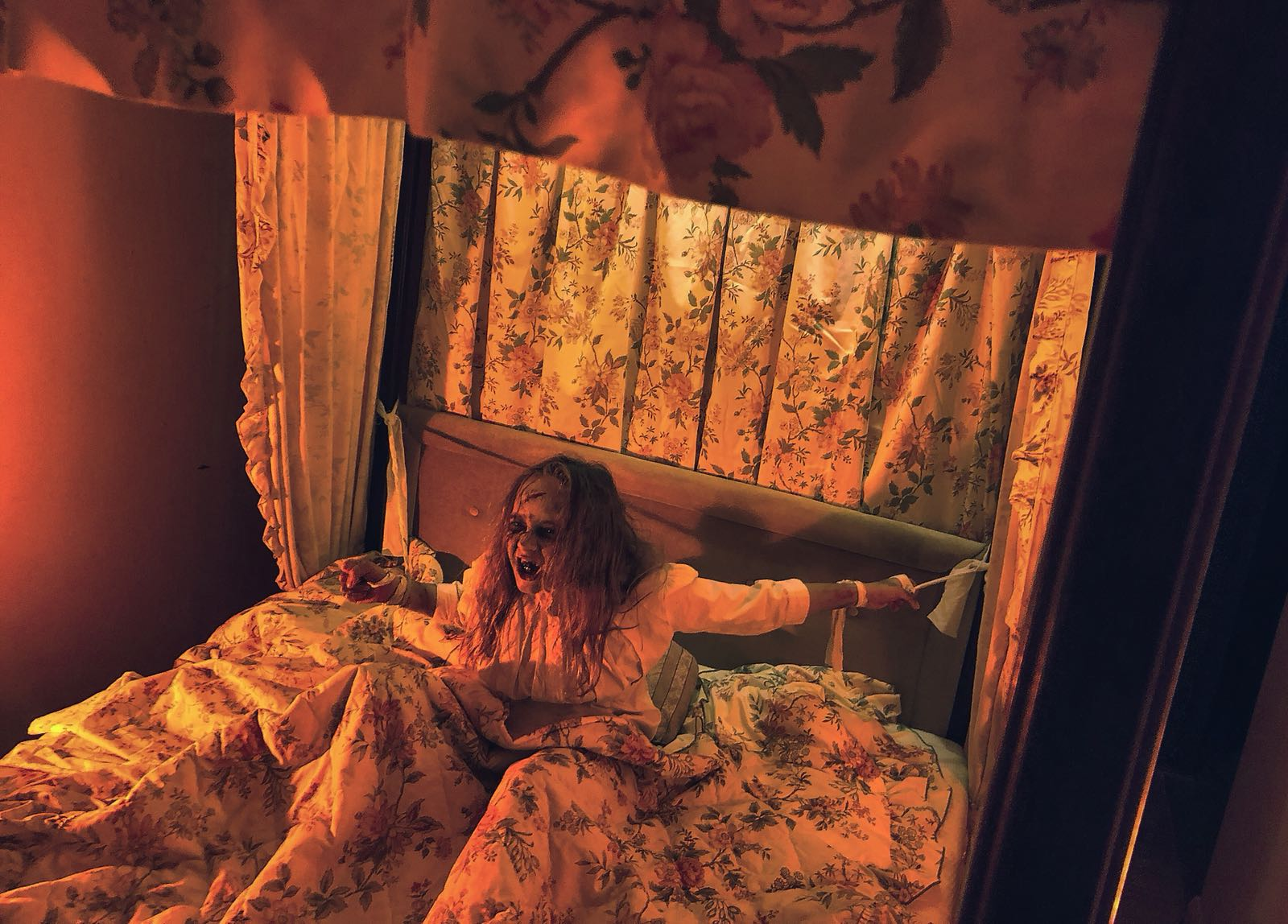 The Exorcism room at House of Horrors Brentwood