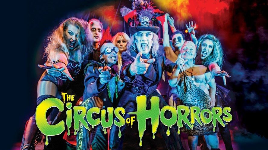 Dr Haze's Circus of Horrors is rolling into town!