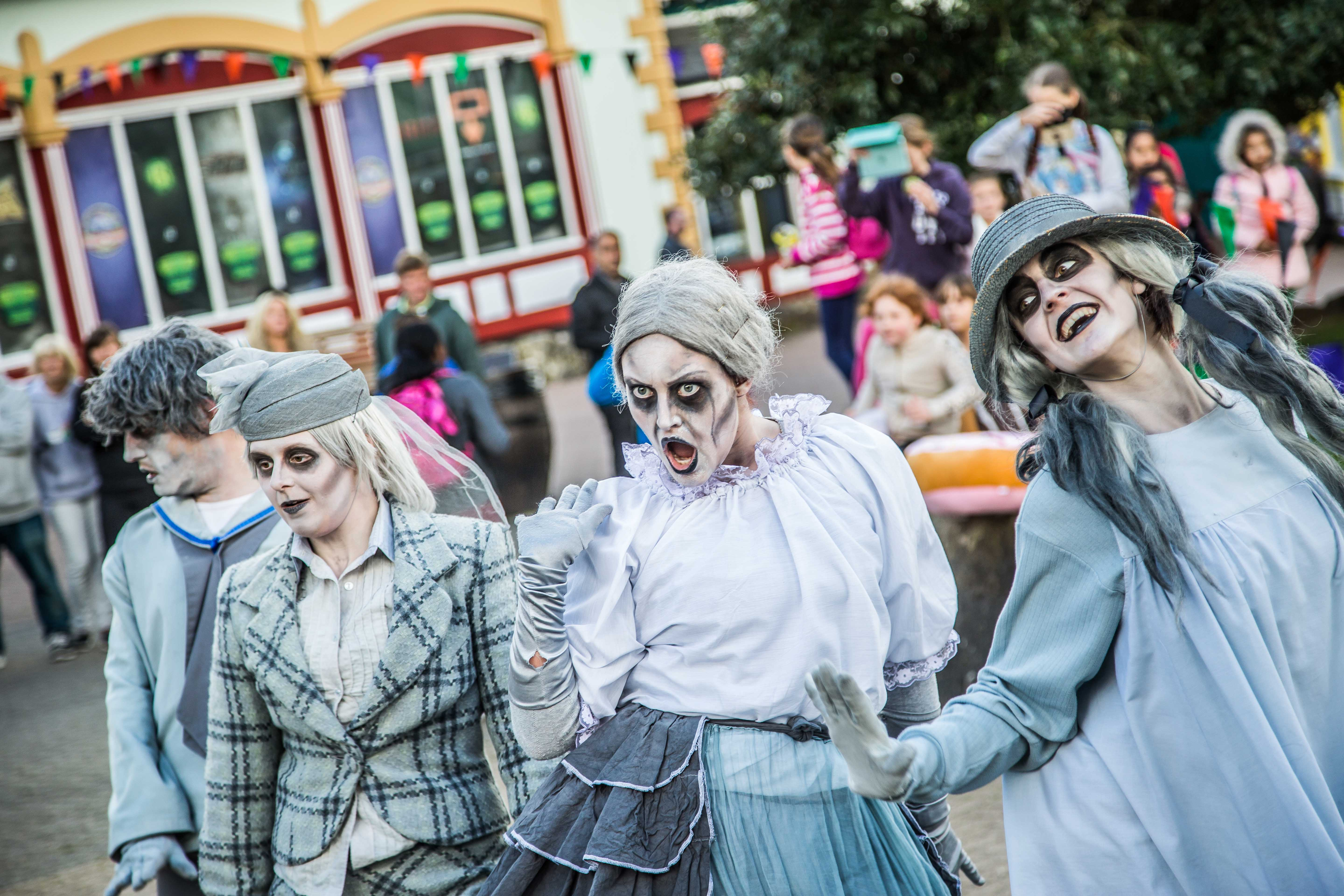 The Alton Ancestors are back for Alton Towers Scarefest 2018