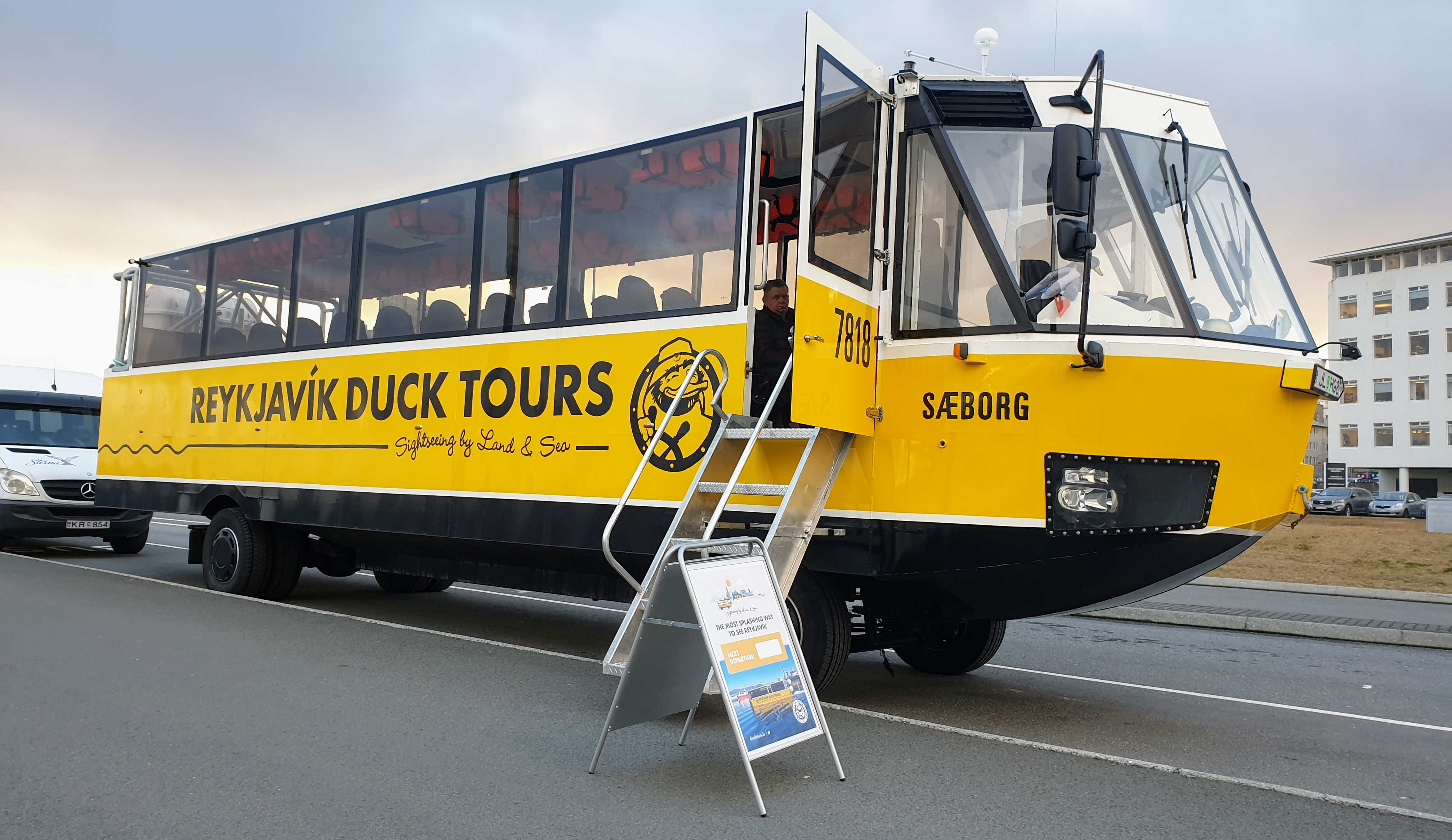 All aboard for the Reykjavik Duck Tours!
