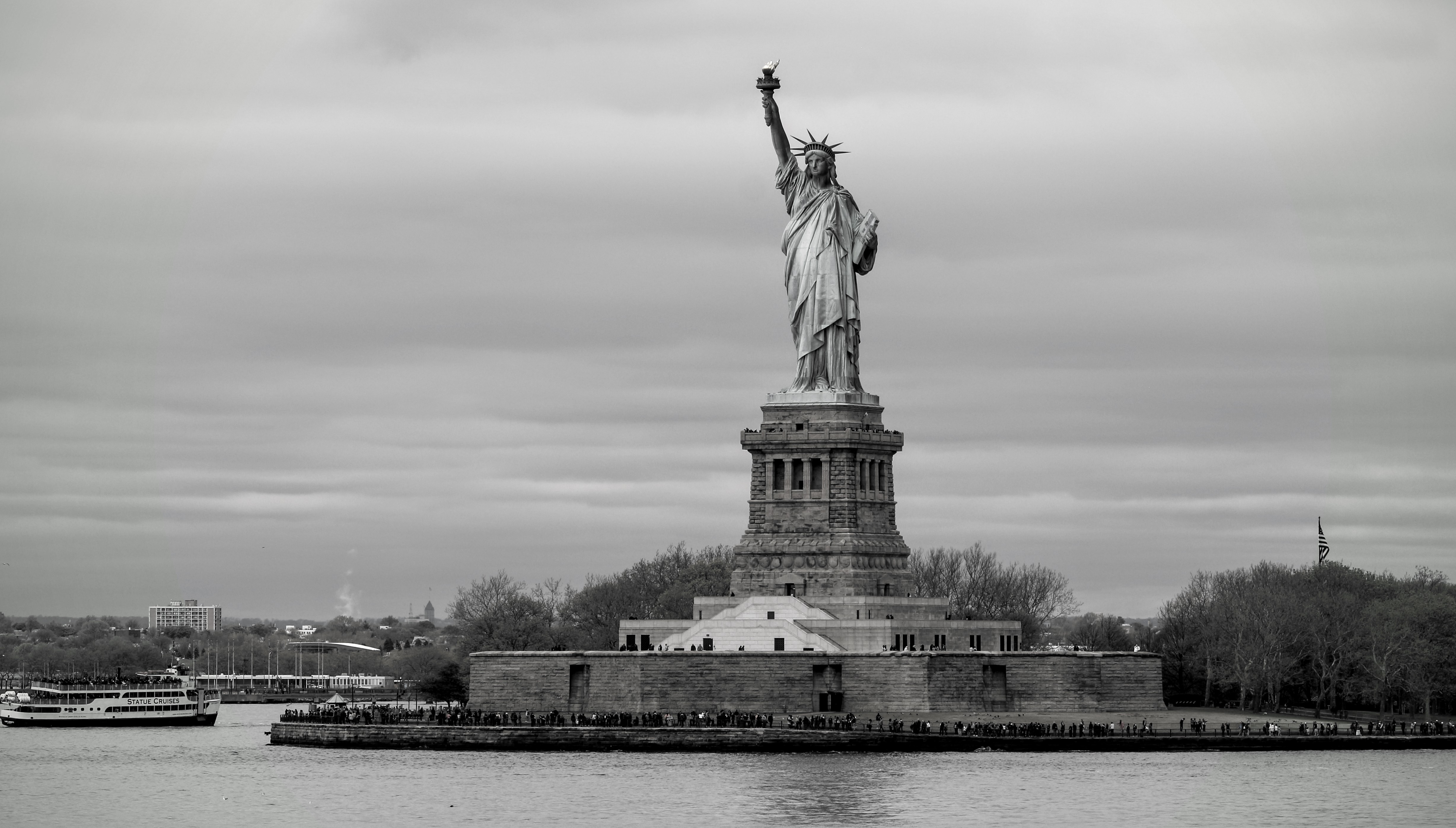 One of my pictures of the Statue of Liberty from the Staten Island Ferry.
