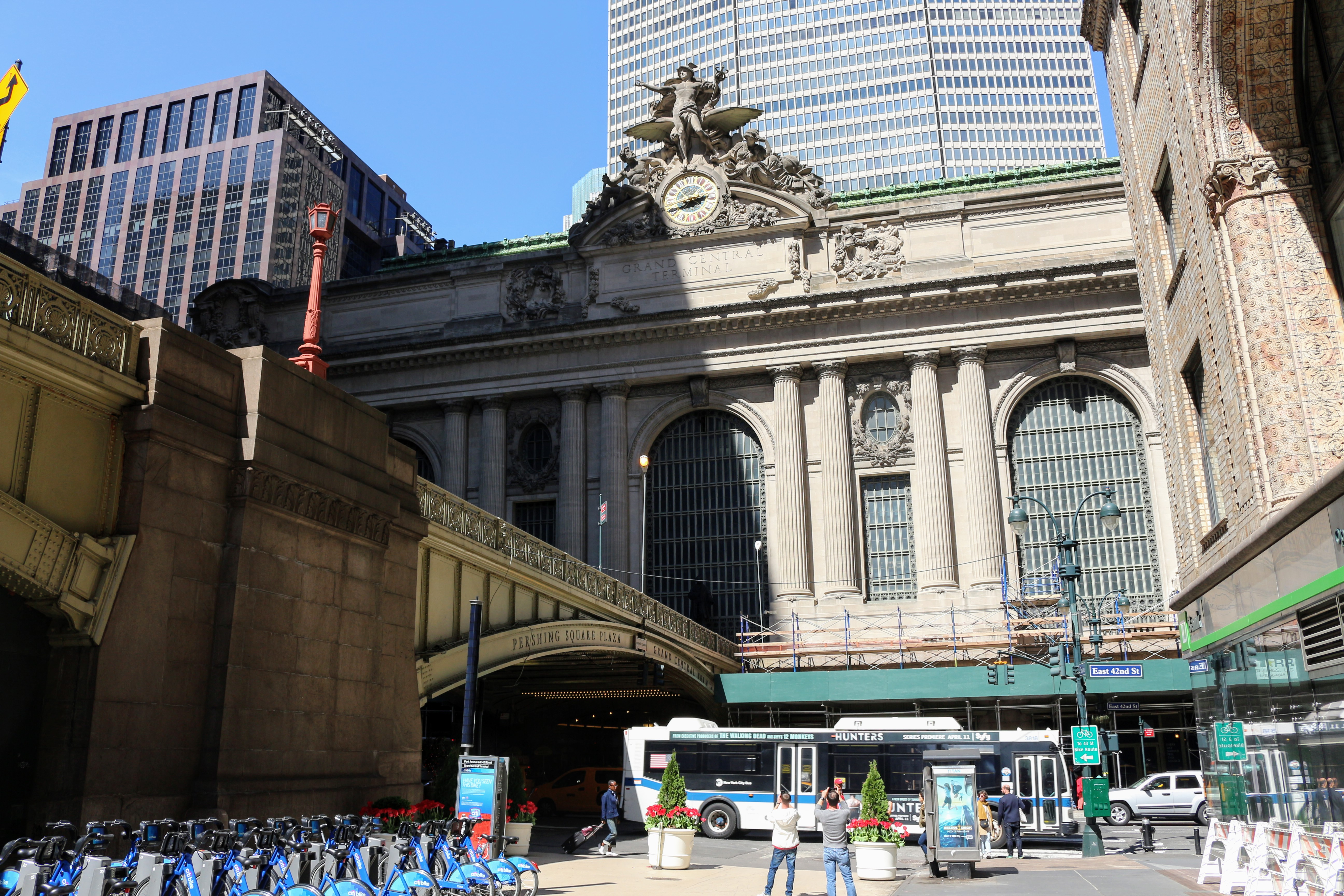 Outside Grand Central Terminal