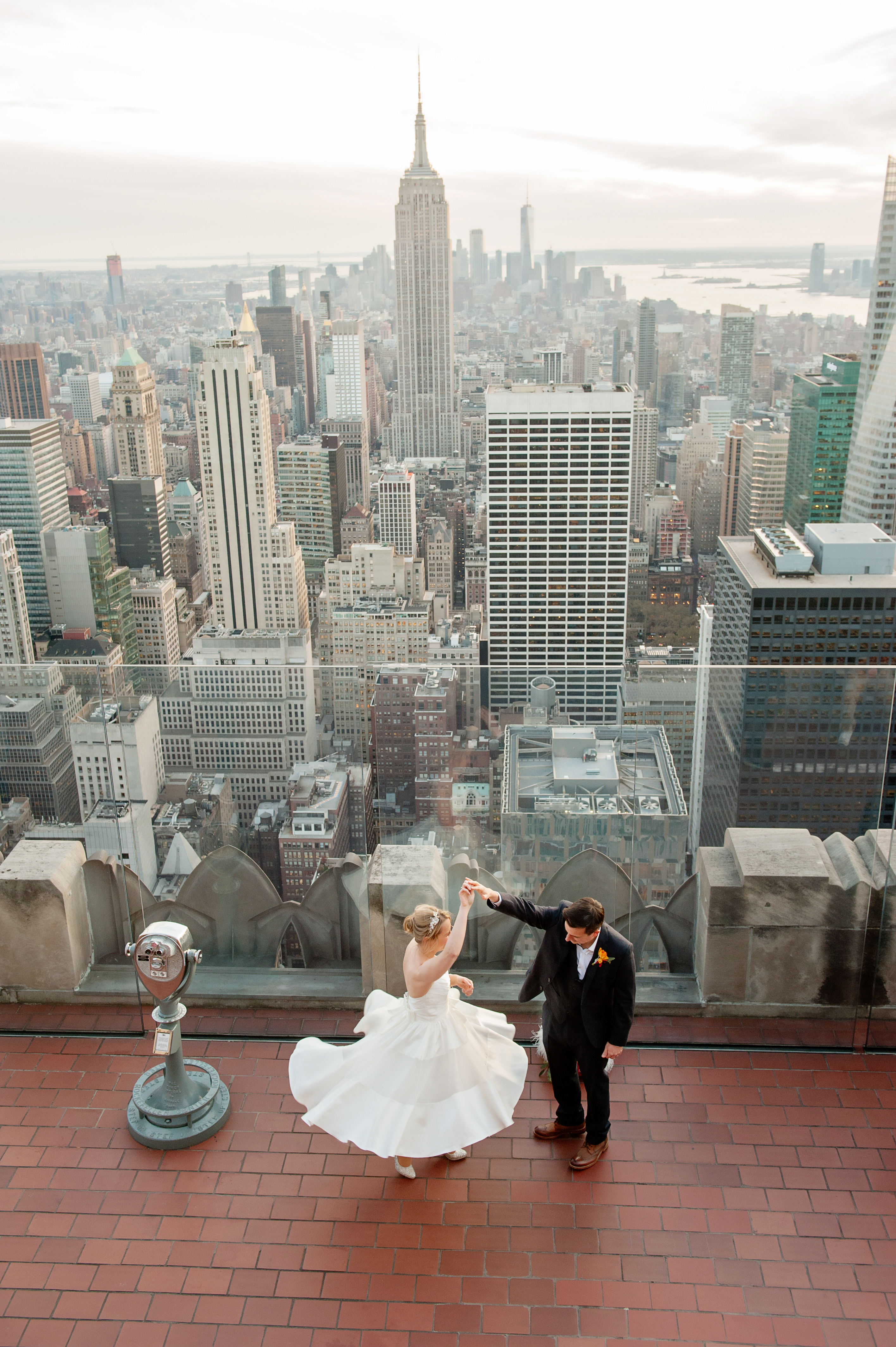 Dancing on the Top of the Rock!