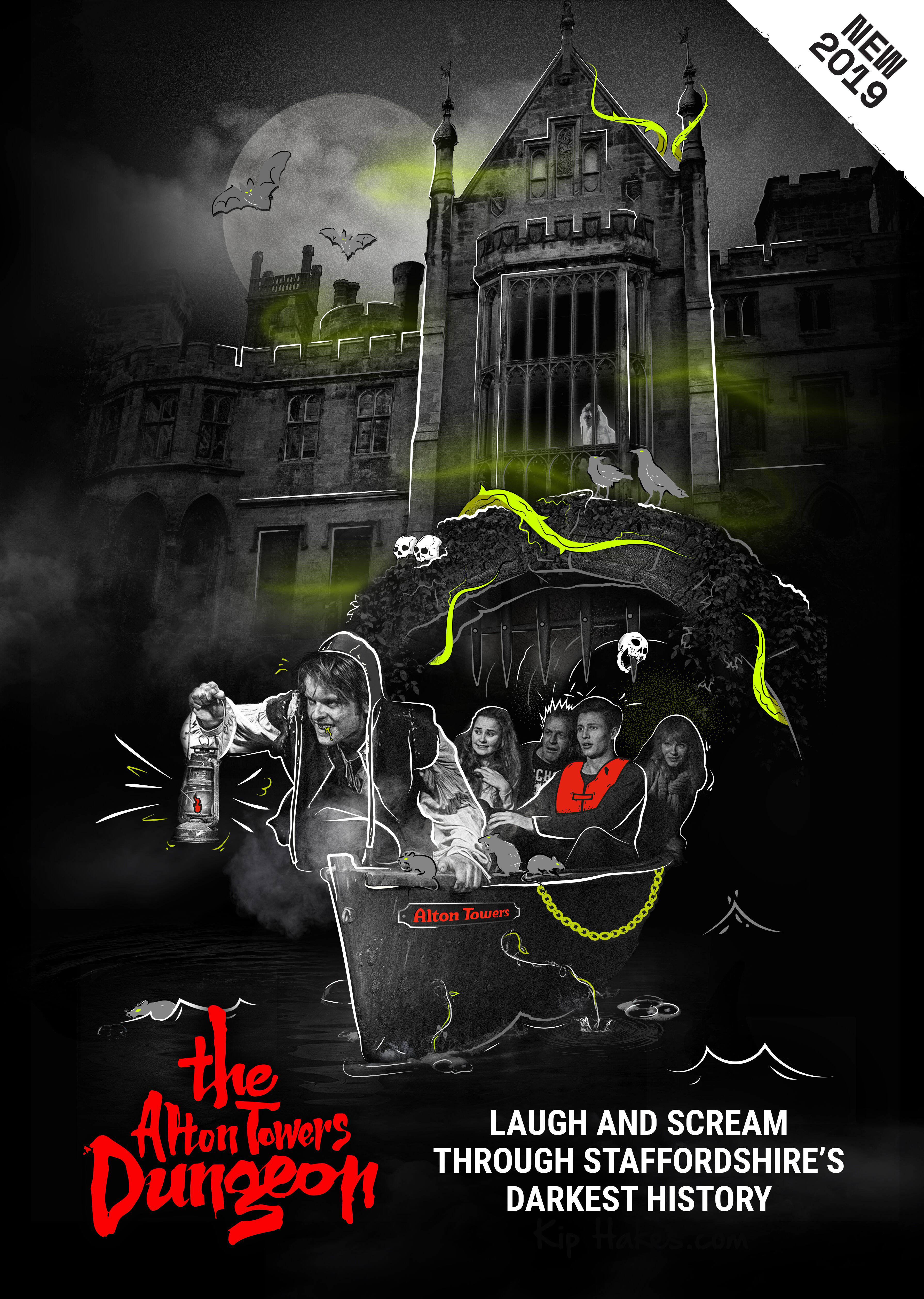 The Alton Towers Dungeon opens on March 23rd!