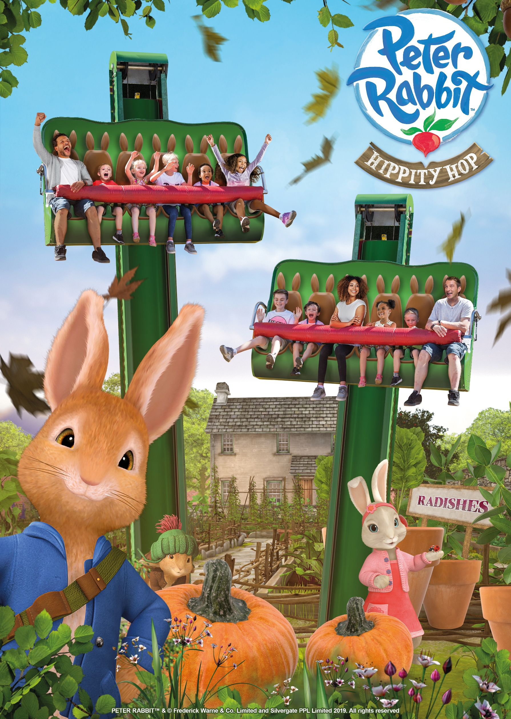 The Peter Rabbit Hippity Hop ride is coming to Alton Towers Resort in 2019