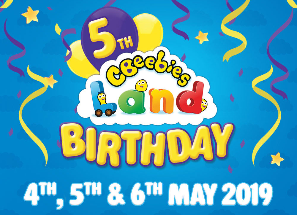 It's the 5th Birthday of CBeebies Land at Alton Towers Resort this weekend!