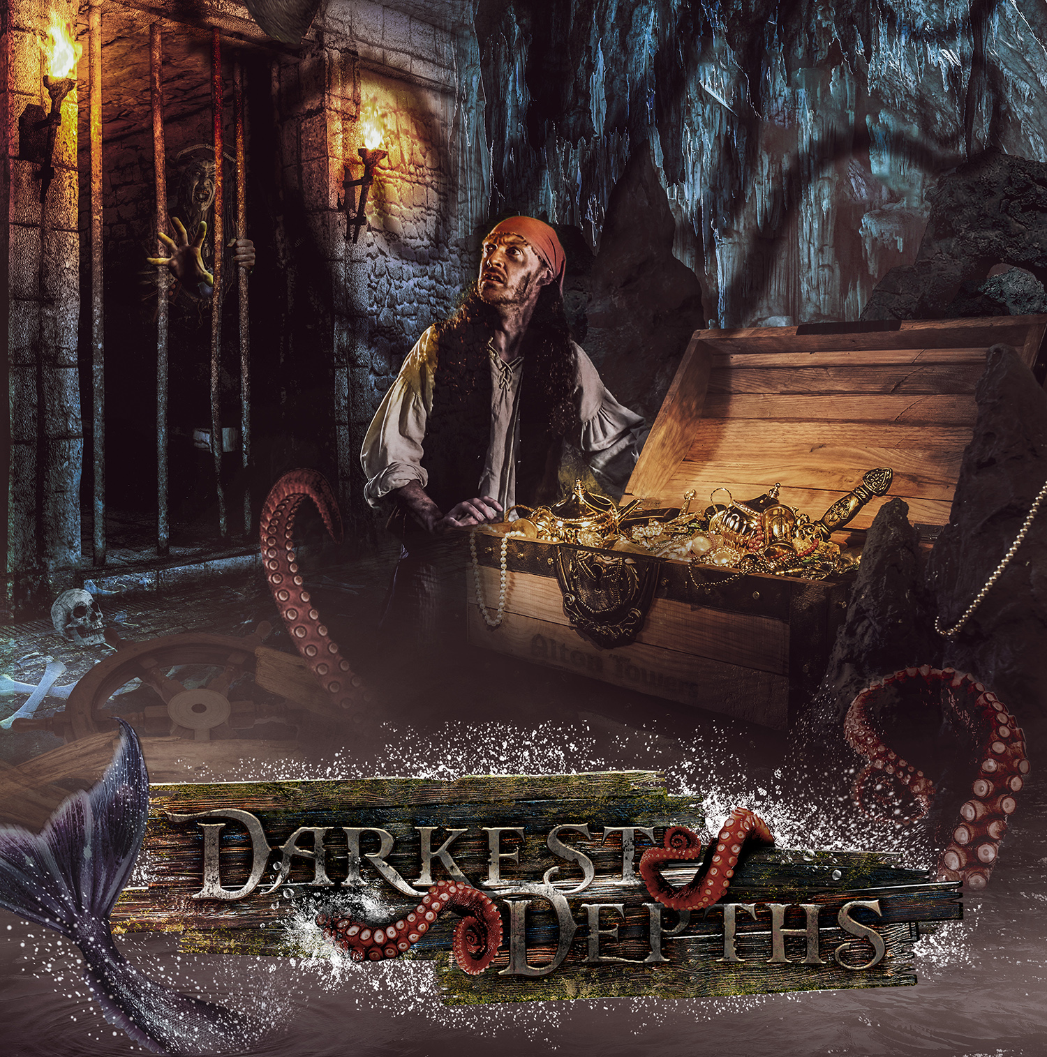 Darkest Depths is BACK for Alton Towers Scarefest 2020