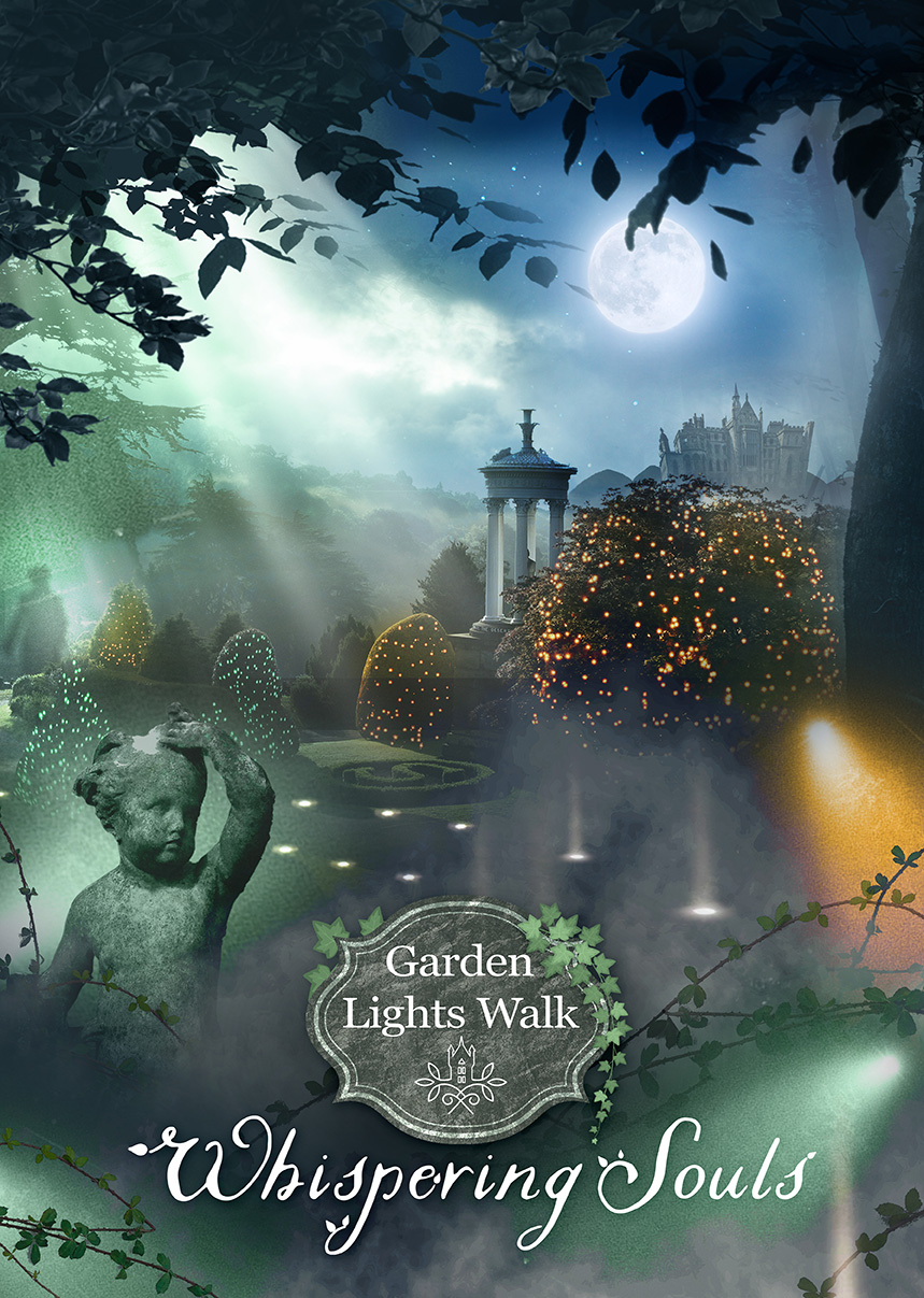 The Garden Lights Walk is part of Alton Towers Scarefest 2020